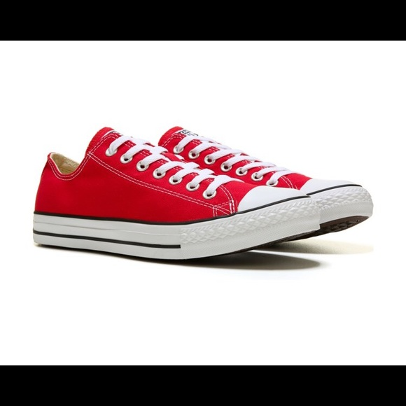 Converse Other - New CONVERSE CHUCKTAYLOR ALL STAR LOW TOP 9 red